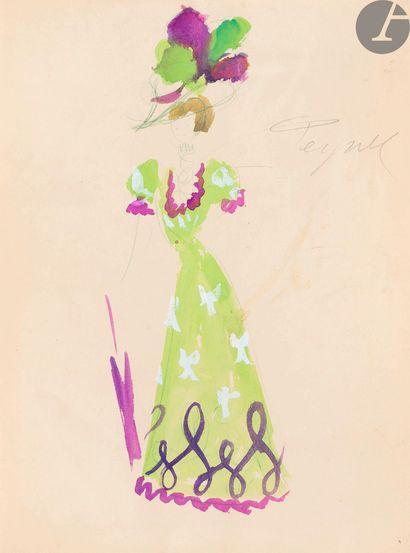 ANOUILH (Jean) - PEYNET (Raymond). Le Bal des voleurs. S.l.: Le Bélier, [1952]....