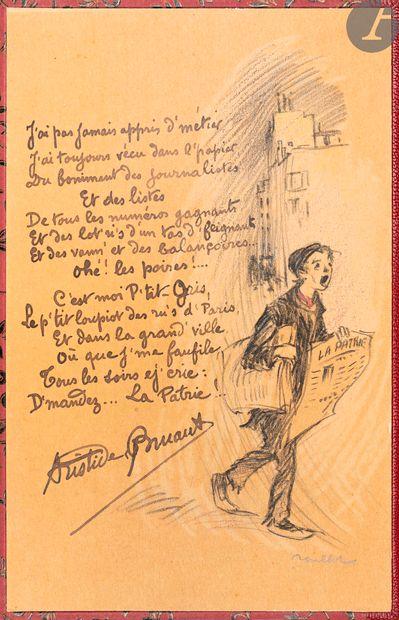 BRUANT (Aristide). [Recueils de chansons]....