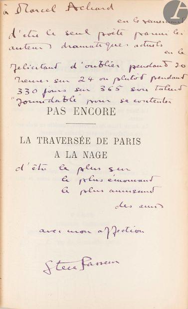 ACHARD (Marcel). Ensemble de 7 ouvrages de...