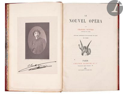 NUITTER (Charles). Le Nouvel opéra… Ouvrage...
