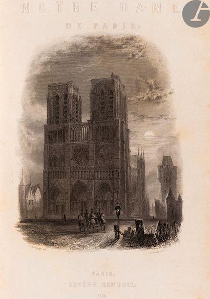 HUGO (Victor). Notre-Dame de Paris. Paris:...