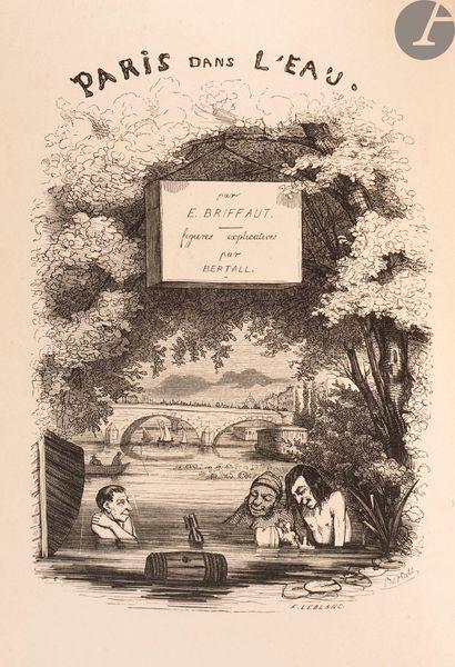 [PARIS]. BRIFFAULT (Eugène). Paris dans l'eau....