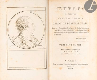 BEAUMARCHAIS (Pierre-Augustin Caron de)....