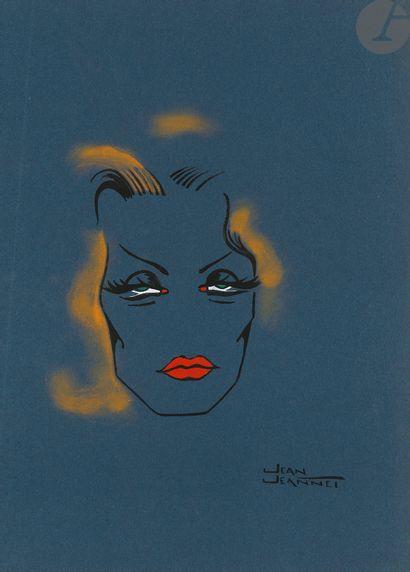 Jean JEANNET. Vedettes [Paris, chez l'auteur,...