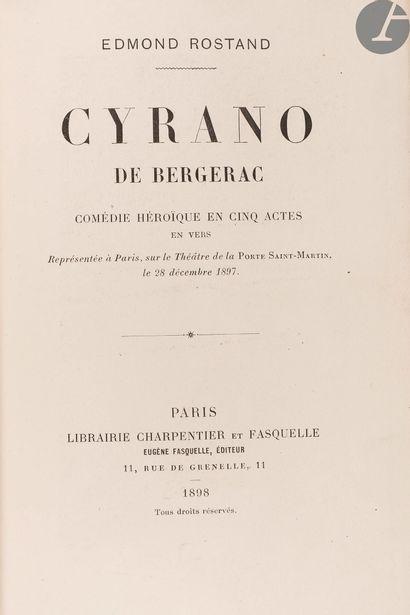 ROSTAND (Edmond). Cyrano de Bergerac. Comédie...