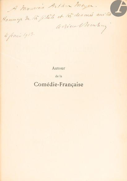 [COMÉDIE-FRANÇAISE]. Ensembles d'ouvrages...