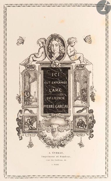 LESAGE (Alain René). Histoire de Gil Blas...