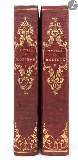 MOLIÈRE. Œuvres. Paris: Paulin, 1835. —...