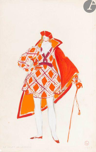 LEPAPE (Georges). Costumes de Théâtre, Ballets...