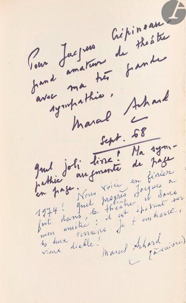 ACHARD (Marcel). Rions avec eux. Les grands auteurs comiques. Paris: Librairie...