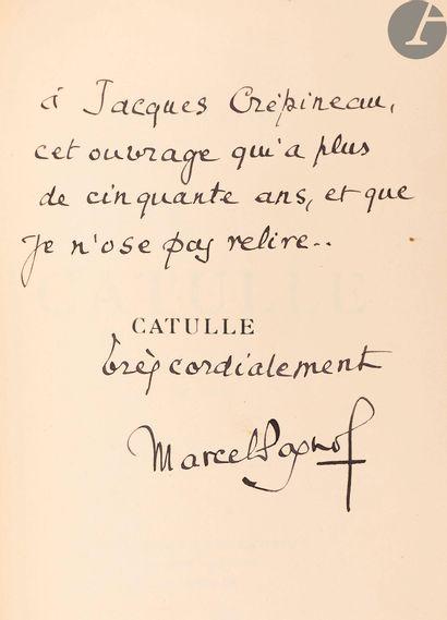 PAGNOL (Marcel). Ensemble d'ouvrages de Marcel...