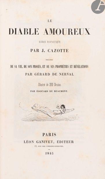 CAZOTTE (Jacques). Le Diable amoureux. Roman...