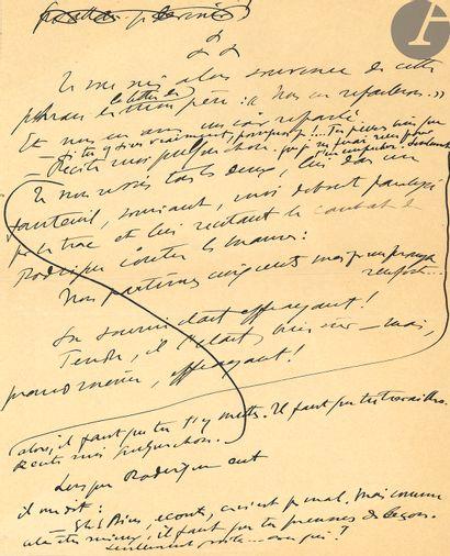 Sacha GUITRY (1885-1957). Carte postale a.s.,...