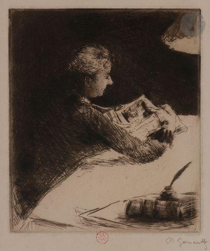 Norbert GOENEUTTE (1854-1894)  Marguerite...