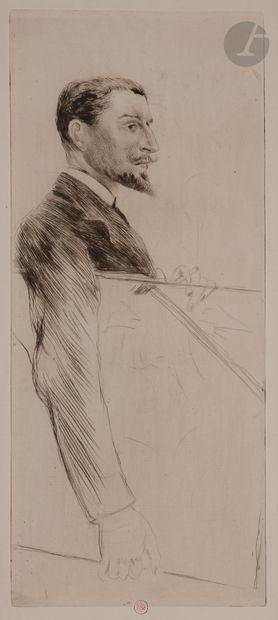 Norbert GOENEUTTE (1854-1894)  Charles Goeneutte...