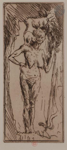 Norbert GOENEUTTE (1854-1894)  La Sorcière...