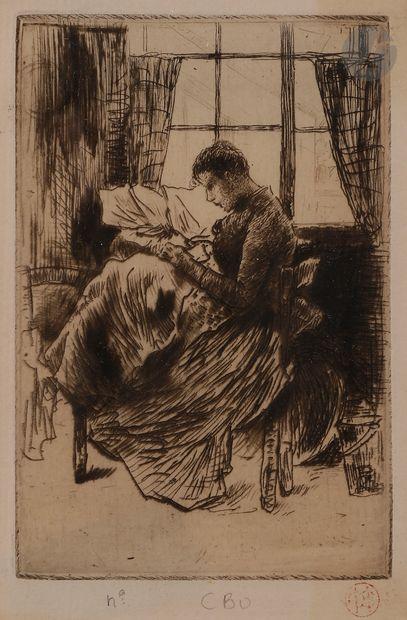 Norbert GOENEUTTE (1854-1894)  Nathalie Goeneutte...
