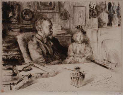 Norbert GOENEUTTE (1854-1894)  Alidor Delzant...