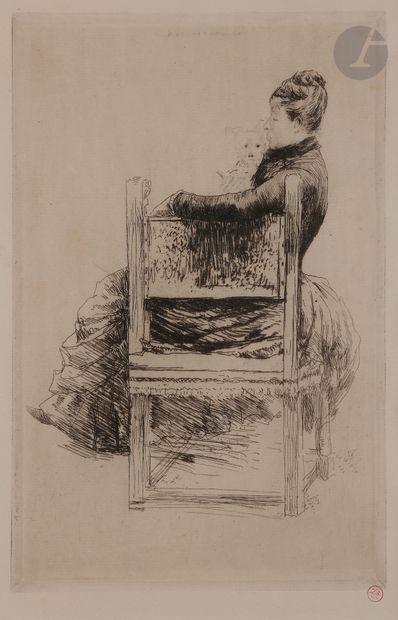 Norbert GOENEUTTE (1854-1894)  La Femme au...