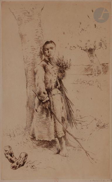 Norbert GOENEUTTE (1854-1894)  La Trouille...