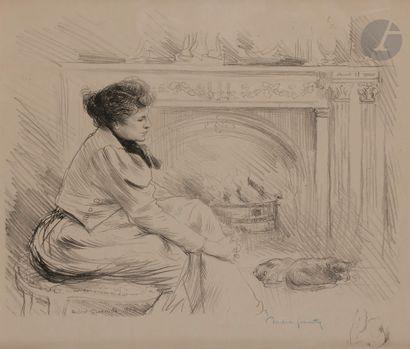 Norbert GOENEUTTE (1854-1894)  Au coin du...