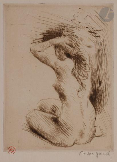 Norbert GOENEUTTE (1854-1894)  La Toilette...