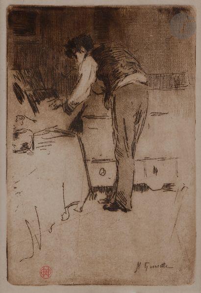 Norbert GOENEUTTE (1854-1894)  Henri Guérard...