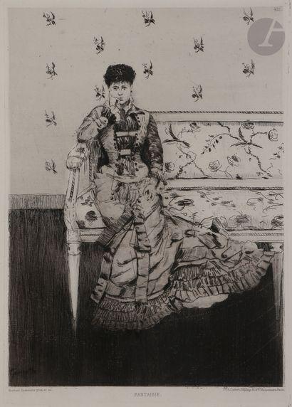 Norbert GOENEUTTE (1854-1894)  Fantaisie...