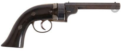 Rare Revolver à système « Malherbe & Rissack...