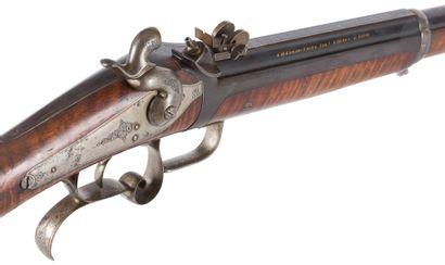Carabine de tir de précision à système Ghaye,...