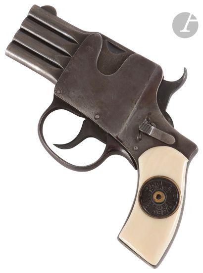Pistolet « Reform » à barillet plat, 4 coups,...