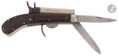 Pistolet couteau de poche « Rodgers », à...