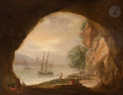 Attribué à Jean François HUE (1751 - 1823)...