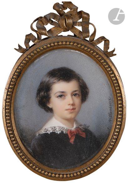 Cécile VILLENEUVE (Paris, 1824 - Paris,1901)...