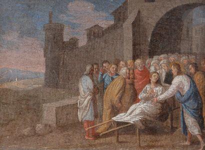 École Française du XVIIe siècle Le paralytique...