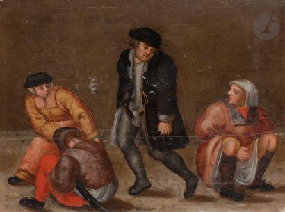Dans le goût de Pieter BRUEGHEL le JEUNE...