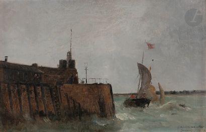 Gaston ROULLET (Ars-en-Ré 1847 - Paris 1925)...