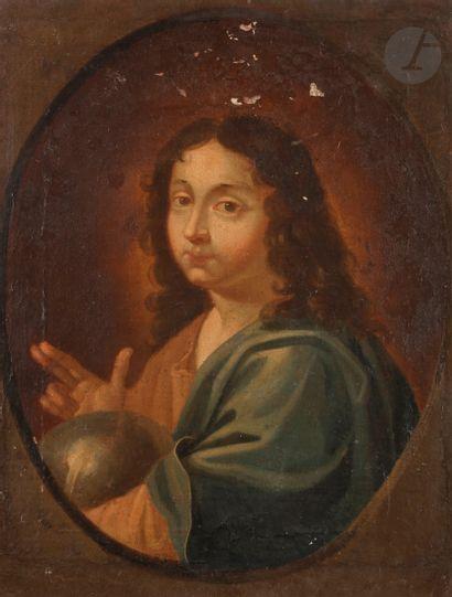 École FRANÇAISE du XVIIe siècle Le Christ...