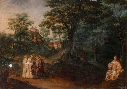 École FLAMANDE du XVIIe siècle Chartreux...