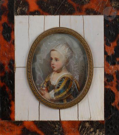 École FRANCAISE du XIXe siècle Portrait de...