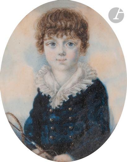 École ANGLAISE du début du XIXe siècle Enfant...