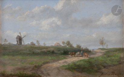 Jules ROZIER (Paris 1821 - Versailles 1882)...