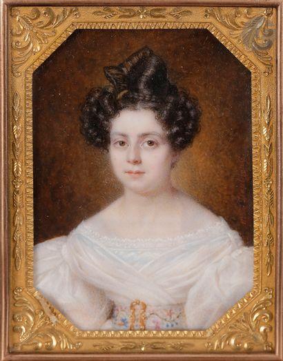 Amélie DAUBIGNY née d'AUTEL (Paris, 1793...