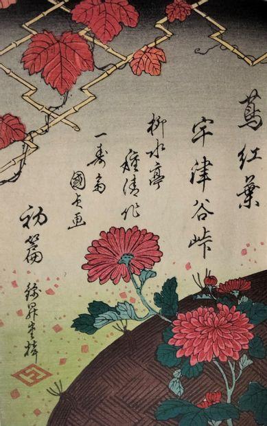 Album d'estampes, Japon, XIXe siècle (Toyokuni...
