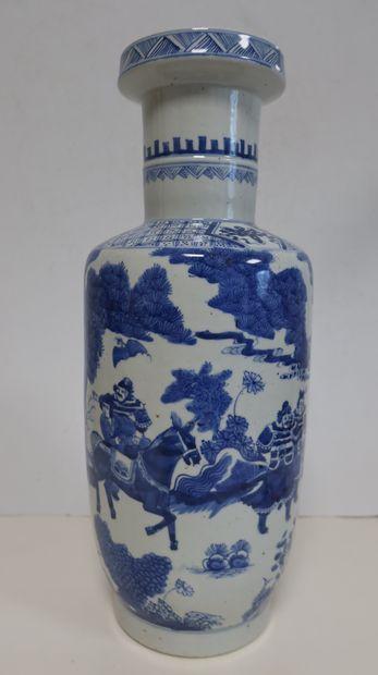 Vase en porcelaine, Chine, fin XIXe siècle...