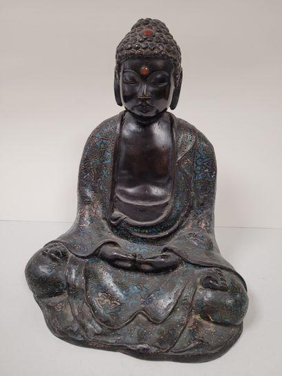 Bouddha en bronze, Japon, début XXe siècle...