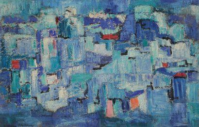 Sabine HETTNER (1906-1986) Composition, 1958...