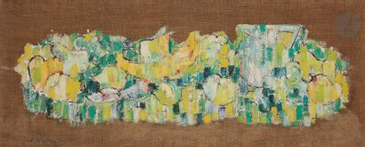 Sabine HETTNER (1906-1986) Nature morte aux...