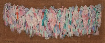 Sabine HETTNER (1906-1986) Poissons, 1957...