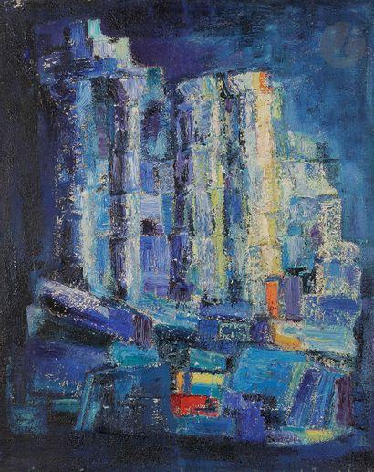 Sabine HETTNER (1906-1986) Composition, 1959...